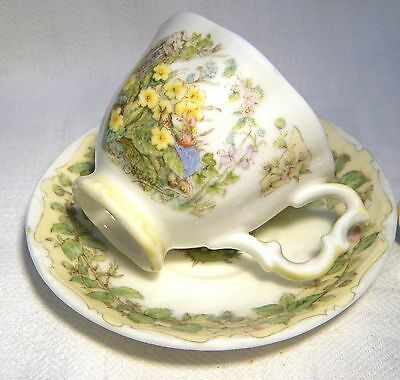 Royal Doulton Brambly Hedge  Miniature Cup & Saucer Spring