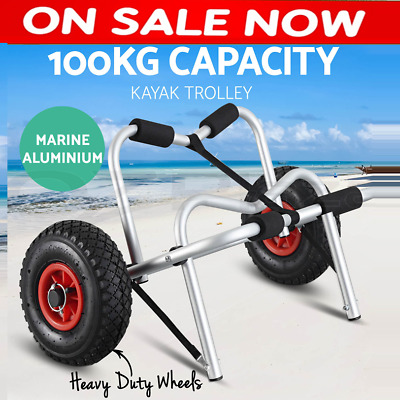 NEW SUP Surfboard Trolley Stand Up Paddle Board Kayak Beach Cart Holds 100kg