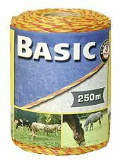 Corral Basic Fencing Polywire 250M Equine Horse Fencing