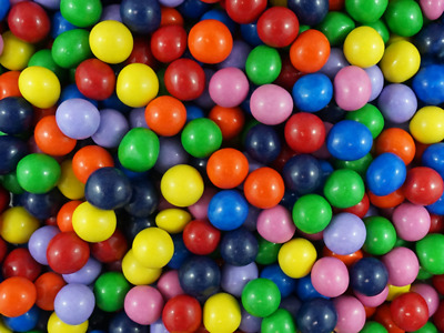 Sweetsoul Chocolate Pearlettes Rainbow Mix 900g Single coloured balls