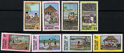 Tokelau 1976 SG#49-56 Definitives MNH Set #D49875