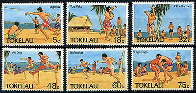 Tokelau 1987 SG#148-153 Olympic Sports MNH Set #D49884