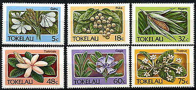 Tokelau 1987 SG#142-7 Flora, Flowers MNH Set #D49883