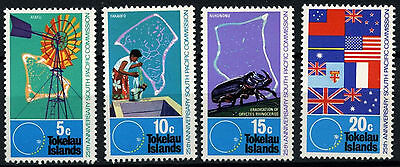 Tokelau 1972 SG#33-6 South Pacific Commission MNH Set #D49871