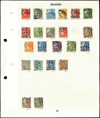 Czechoslovakia Album Page Of Stamps #V4649