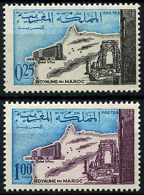 Morocco 1967 SG#197-8 Hicton Hotel MNH Set #D49385
