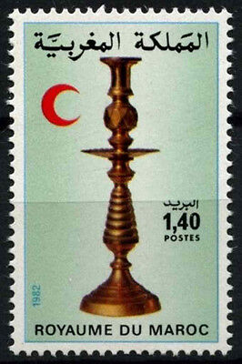 Morocco 1982 SG#614 Red Crescent Candlestick MNH #D49399