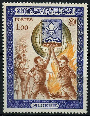Algeria 1967 SG#503 World Scout Jamboree MNH #D49352