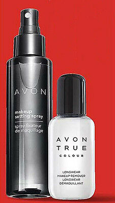 Avon Set make-up perfetto spray fissante e struccante bifasico.