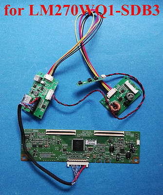 DP Board + T-CON Board for 27inch 2560x1440 LCD LM270WQ1-SDB3 LM270WQ1-SDE3