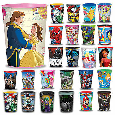 16oz Children's Birthday Party Plastic Loot Treat Fillers Keep Sake Favor Cups