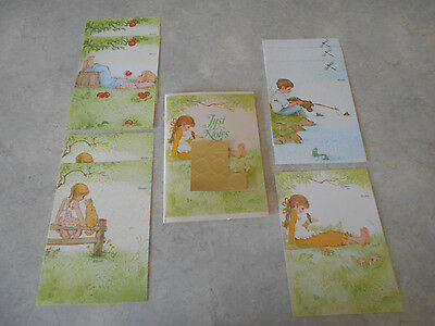 8 Current Inc Country Animal Bird Apple Boy Girl NoteCards Just a Notes Trifold