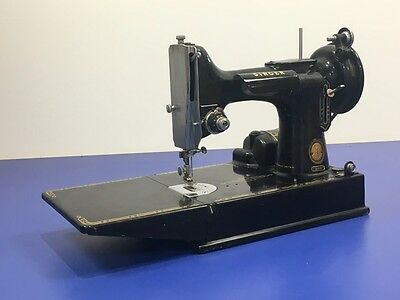 Singer 221K Sewing Machine - No Pedal, Thus Unable To Test