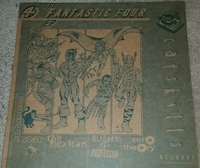 "VARIOUS ARTISTS Fantastic Four EP Senorous Star Zero Theory vinyl 12"" Catskills"