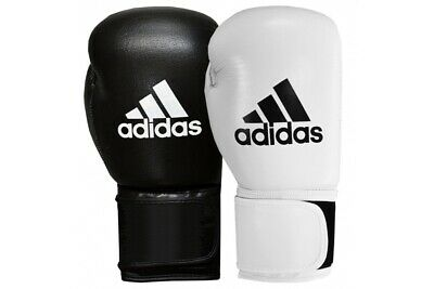 Adidas Leather Boxing Gloves Performer 8 10 12 14 16 18 Sparring Blue Red Black