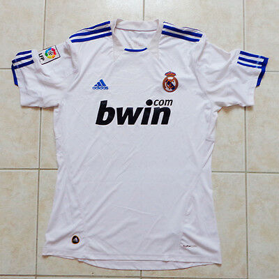 Maillot Real Madrid, jersey, shirt, maglia, camiseta, trikot - 2010/11, taille L
