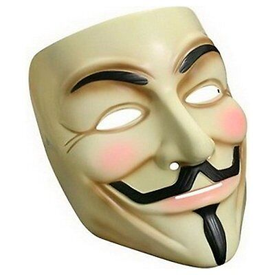 V Vendetta Maske Guy Fawkes Anti ACTA Occupy Anonymous Cosplay Fasching Karneval