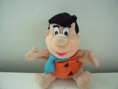 Rare Fred Flintstone Soft Toy Finger Puppet By C & A Hanna Barbera