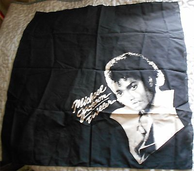 Michael Jackson The King Of Pop - Foulard Thriller Scarf - Vintage & Rare