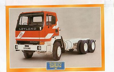 Leyland 2.4.21 Constructor       1980            Glossy   Picture (T477)