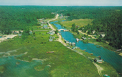Heart of the  Bruce Peninsula STOKES BAY Ontario Canada Postcard