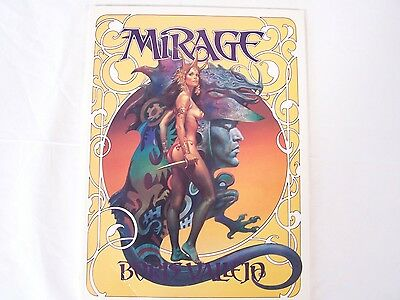 MIRAGE - Boris Vallejo Fantasy Art Book, 12 x 9