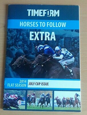 Timeform Horses to Follow 2014 July Cup Newmarket issue