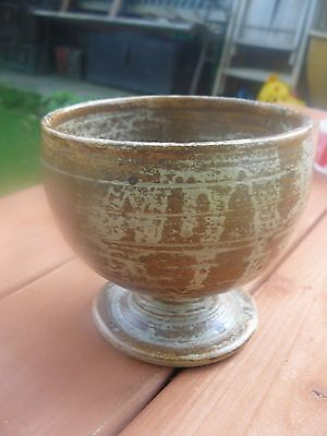 French  Studio Pottery  Bowl  Signed/ Dated  1982  Free Uk Post