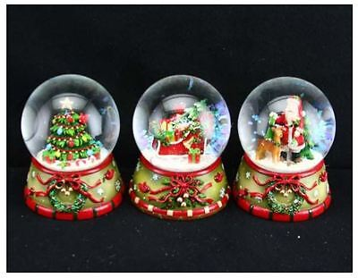 Gisela Graham Traditional Nostalgia Snow Dome Globe Christmas Decoration Gift