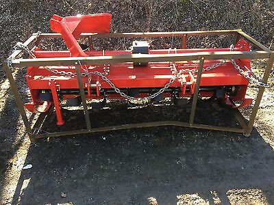 "TMG Industrial 80"" 3 Point Rototiller"