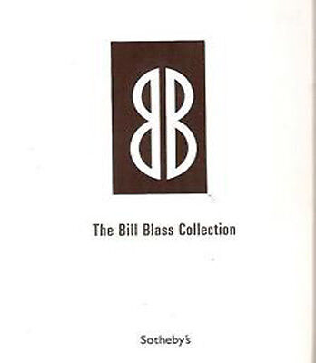RARE Sotheby's The Bill Blass Collection Auction Catalog  2003