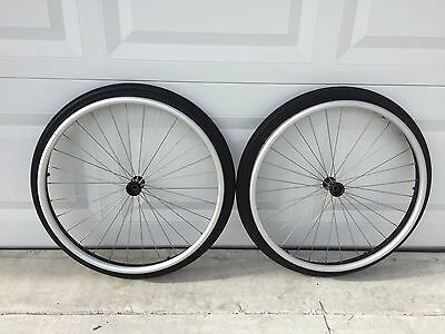 "Wheelchair wheels  22"" Pair for Quickie tilite Invacare wheelchair s"