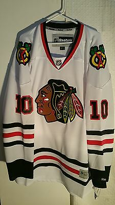NHL Chicago Blackhawks Patrick Sharp Premier Ice Hockey Shirt Jersey