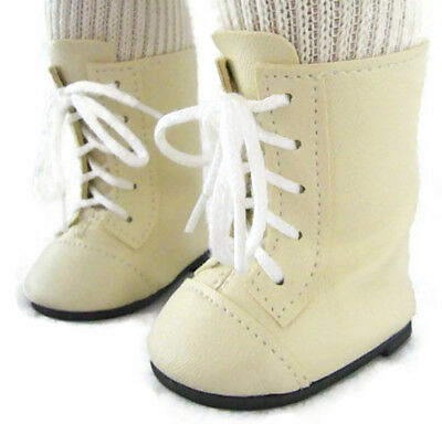 """Brown Work Snow Boots Kirsten Pioneer Doll Clothes For 18/"""" American Girl"""