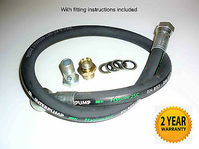 Jeep Grand Cherokee 2.7 CRD Power Steering Hose Pump to Fan