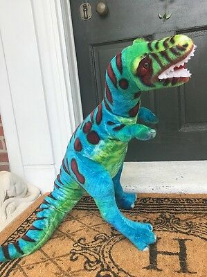 "Melissa & Doug Plush T-Rex Dinosaur Large 29"" Stuffed Animal Toy"