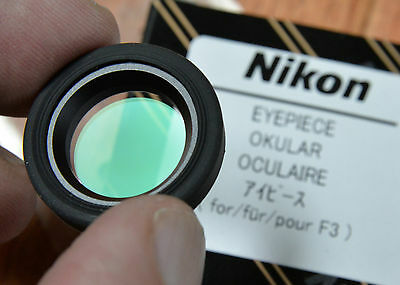 Nikon Eyepiece Multicoated Occular for F3 NEW w box removable Rubber outer ring