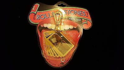 Vintage 1983 ROLLING STONES Concert Photo Keychain 80s Keith Richards 80s ring