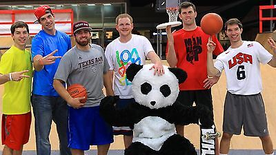 Dude Perfect Trick Shot Sports Entertainment Group Panda Poster