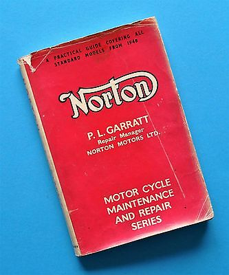 1948-62 Norton Motorcycle Service Manual Book ES2 30 40 18 19 50 16H Dominator