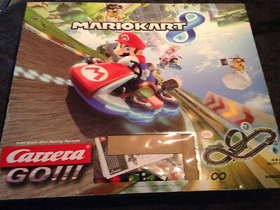 Mario kart 8 carrera go!!! Boxed Working Cheapest On eBay 1:43 Scale Slot Racing