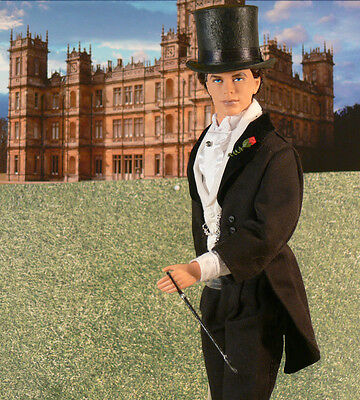 DOWNTON ABBEY Kemal Pamuk OOAK DOLL Riding to the Hounds with Lady Mary
