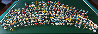 Smurf lot vintage figurine 150+ 60s 70s 80s Schleich, Bully, West Germany