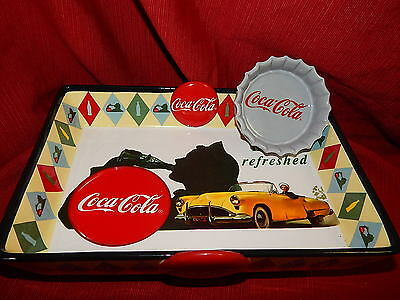 Collectable Coca-Cola Chip & Dip Serving Dish, Dated 2000 W/ Original Box
