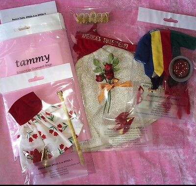 Vintage IDEAL TAMMY Archival Quality Clothing Display Bags Be Organized! Lot