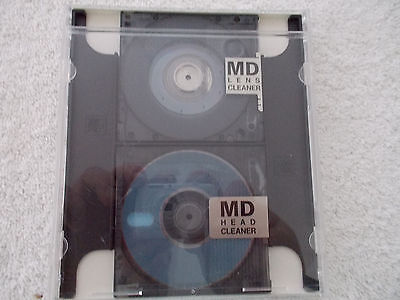 Mini Disc Head Cleaner/lens Cleaner In Carry Case!fast Tracked Ship.