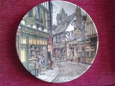 Royal Doulton Plate The Antique Shop Window Shopping Series Colin Warden