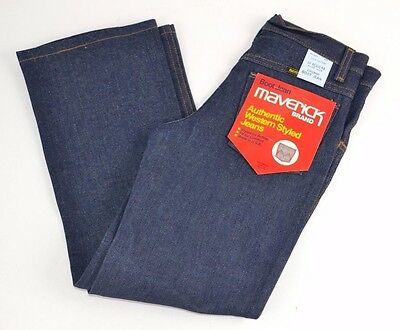 Vtg Maverick Blue Bell Authentic Western Styled Jeans BOOT CUT Boys 10 Reg - NOS