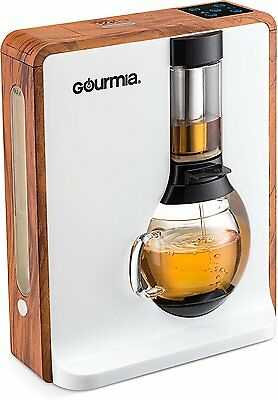 Gourmia Tea Square & Coffee Electric Brewer Infuser Loose Leaf Steeper GTC8000W