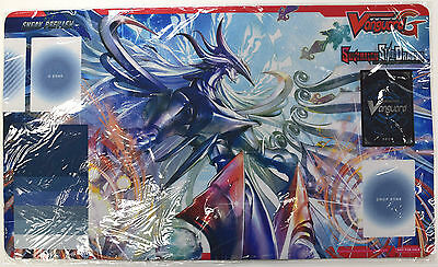 NEW Cardfight Vanguard Sovereign Star Dragon SNEAK PREVIEW Rubber Playmat